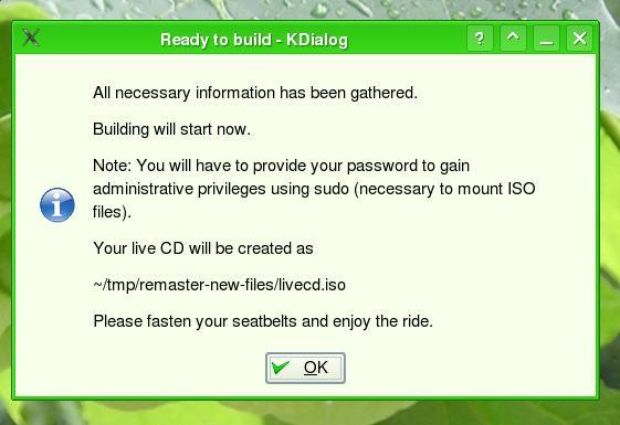 Ubuntu live CD customization tool